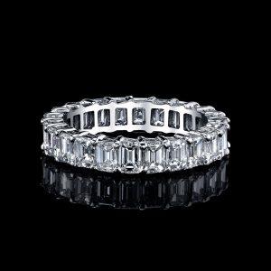 Square Diamonds Ring