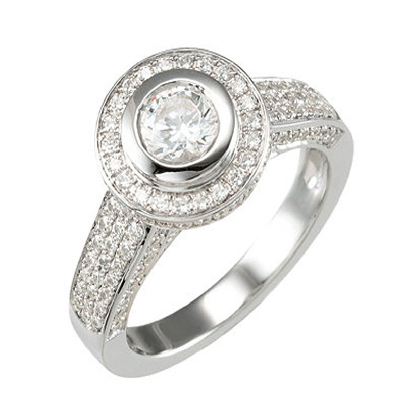 Diamond Engagement Ring 1.32 Carat