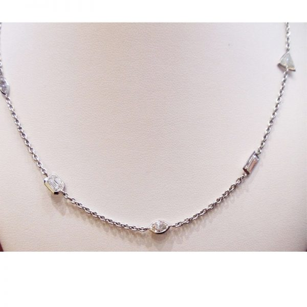 Diamond Necklace 477 Carats Platinum