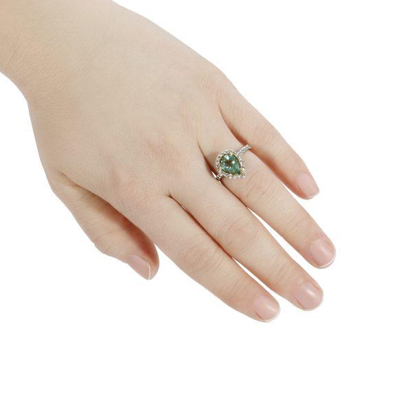 BEAUTIFUL ENGAGEMENT RING Fancy Intense Yellow Diamond Ring 1.35 Carat